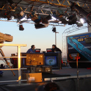 ESPN Live Broadcast booth