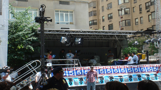 New York City The National Puerto Rican Day Parade Stage