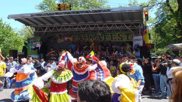 Ecuafest, Morningside Heights, New York