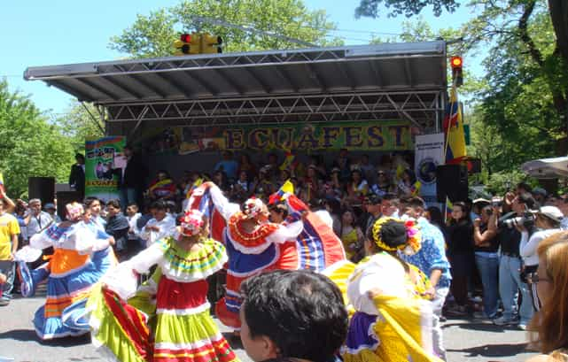 Ecuafest, Morningside Heights, New York