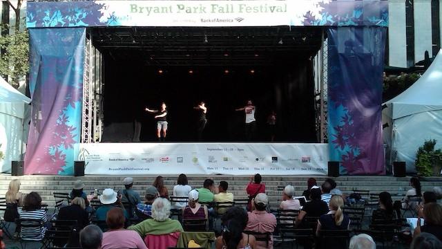 Bryant Park Fall Festival