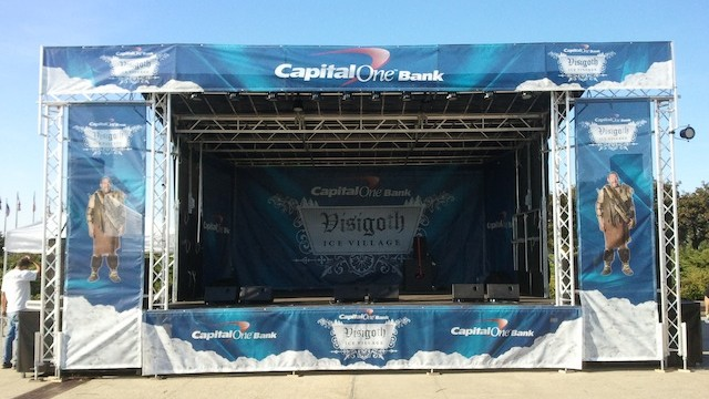 Capital One Ice Village Mobile Stage