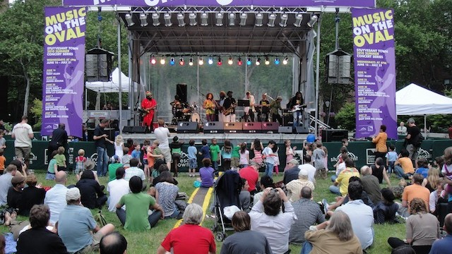 Music on the Oval Mobile Stage