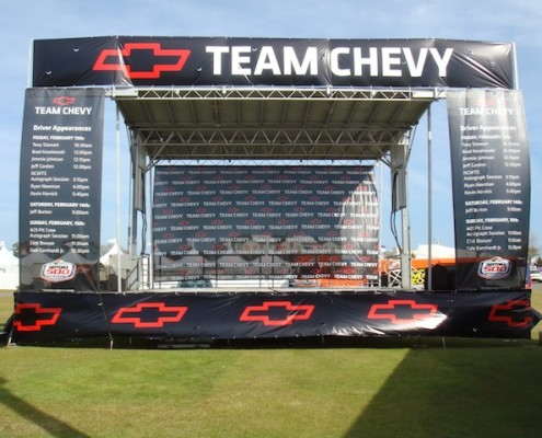Team Chevy Mobile Stage