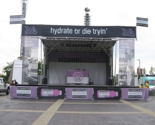 Vitamine Water Mobile Stage